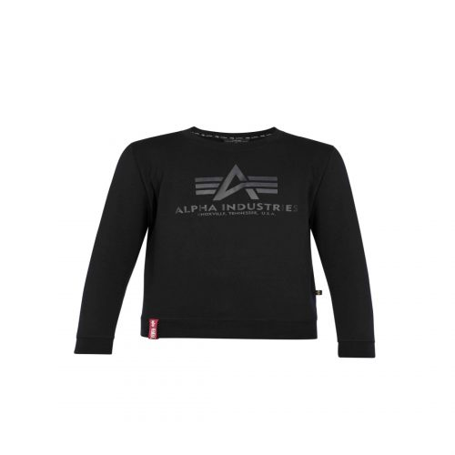 ALPHA INDUSTRIES ALPHA BASIC LOGO CREW