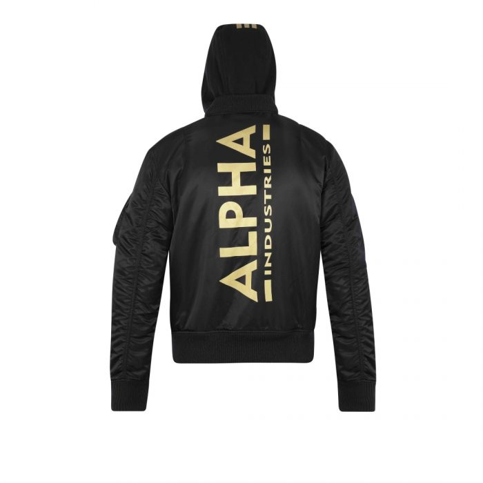 ALPHA INDUSTRIES MA 1ZH BACKPRINTD33F
