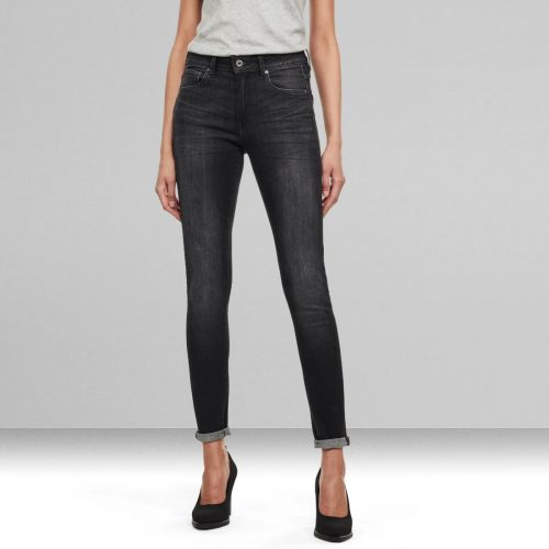 G STAR RAW 3301 HIGH WAIST SKINNY JEAN 3