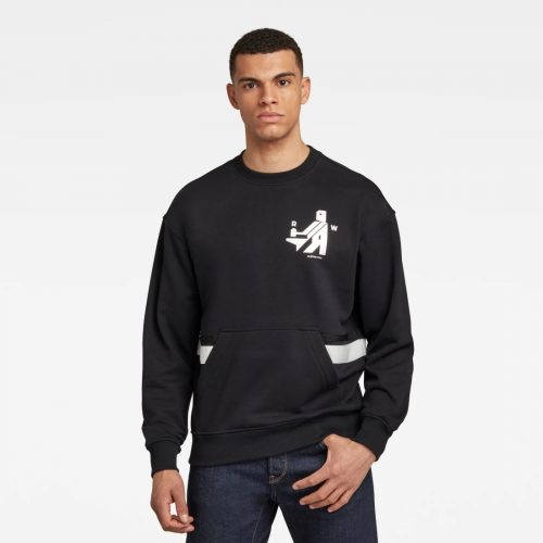 G STAR RAW HAMMER RAW SWEATER