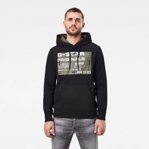 G STAR RAW ORIGINALS HDD SWL DK BLACK 4