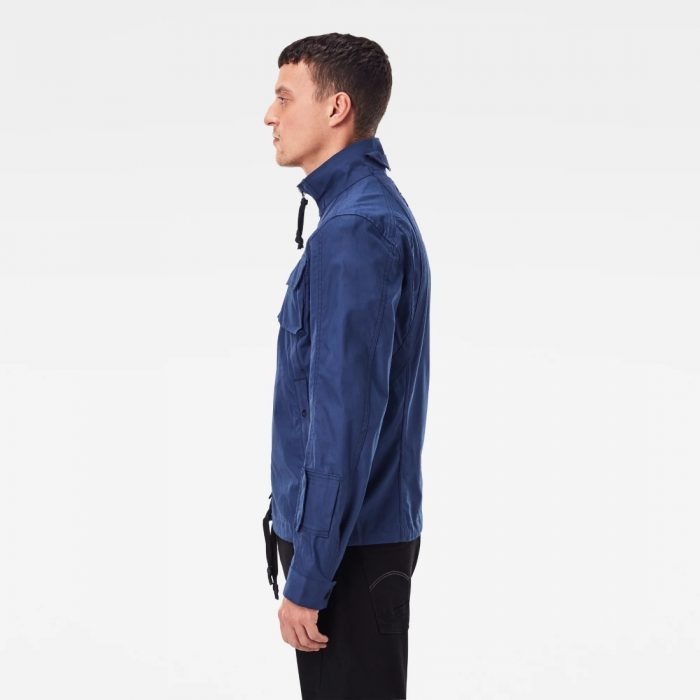 G STAR RAW UTILITY HB TAPE JKT IMPBLUE 2