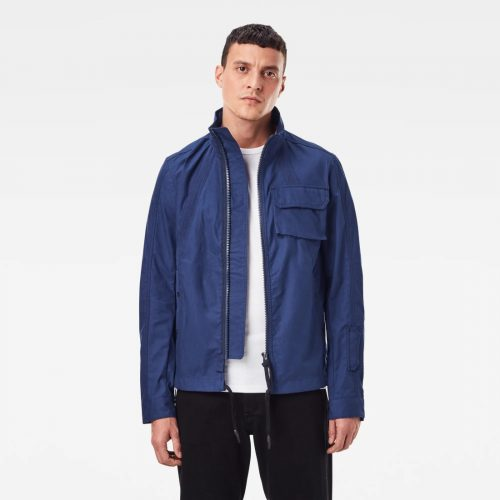 G STAR RAW UTILITY HB TAPE JKT IMPBLUE