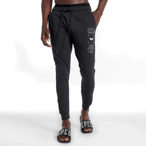 S.P.C.C CHARTER TRACK PANTS BLACK 1