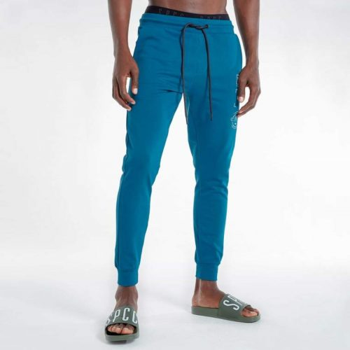 S.P.C.C CHARTER TRACK PANTS TEAL