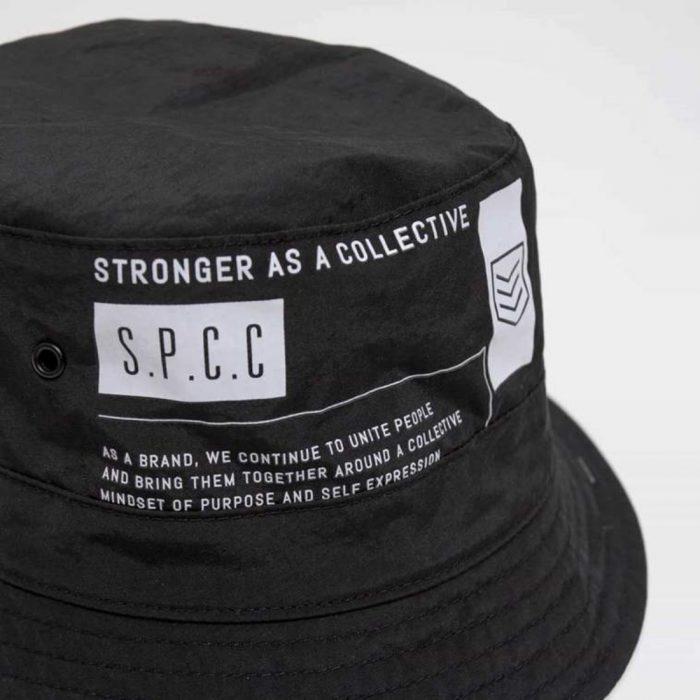 S.P.C.C KLYNE BUCKET HAT BLACKC2CR 1