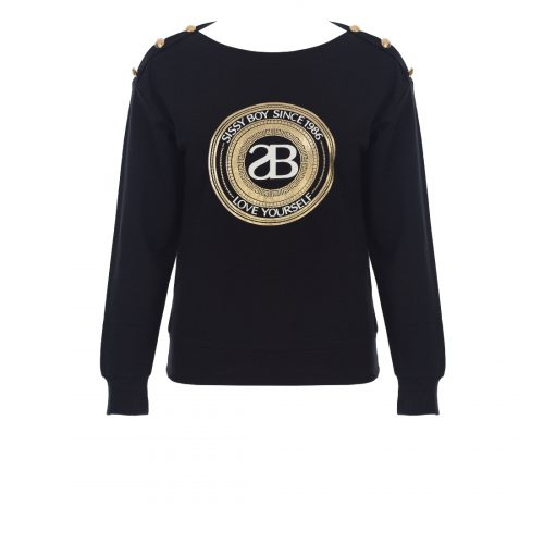 SISSYBOY maneli jersey in black 2