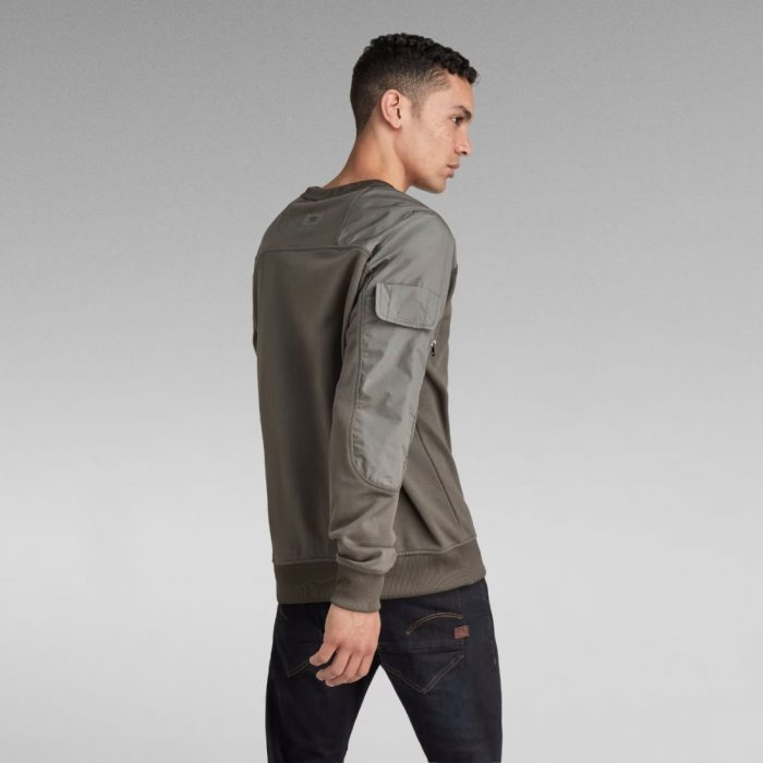 G STAR RAW CONTAINER SWEATER GS GREY 2