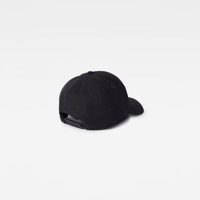 G STAR RAW ORIGINALS BASEBALL CAP DARK BLACK 1