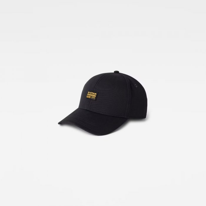 G STAR RAW ORIGINALS BASEBALL CAP DARK BLACK