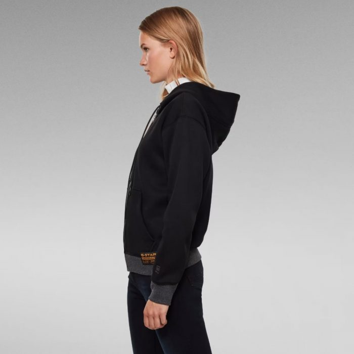 G STAR RAW PREMIUM CORE ZIP JACKET BLACK 2