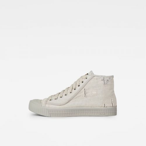 G STAR RAW ROVULC 50 YEARS DENIM HI ECRU