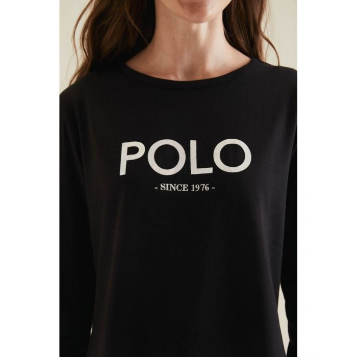 POLO LDS RELAXED MIRROR TEE BLACK.webp1