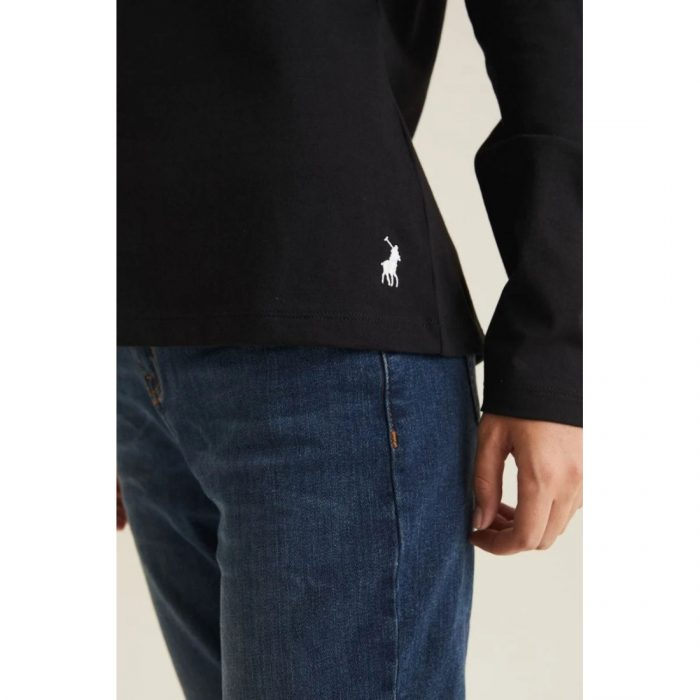 POLO LDS RELAXED MIRROR TEE BLACK.webp2