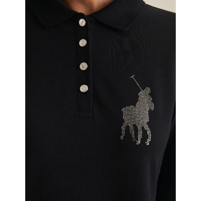 POLO RENNI EXCLUSIVE LDS RHINESTONE GOLFER DRESS BLACK.webp1