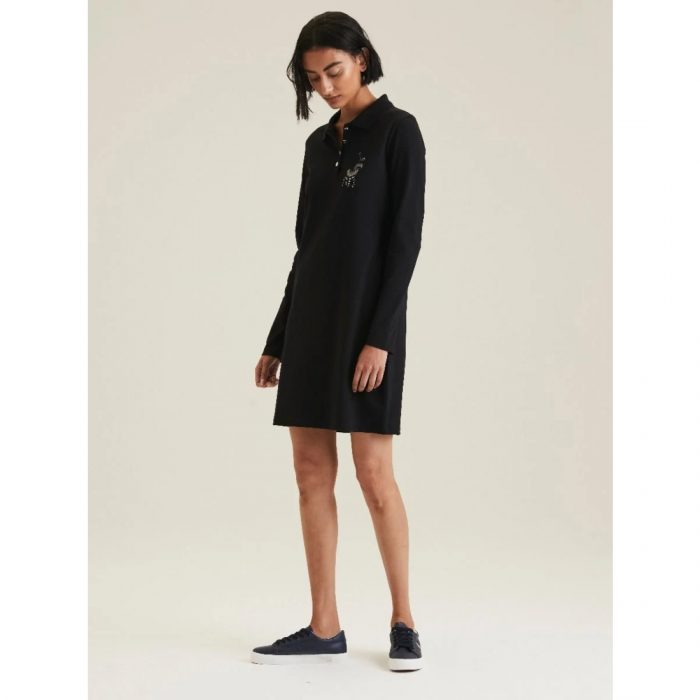 POLO RENNI EXCLUSIVE LDS RHINESTONE GOLFER DRESS BLACK.webp5