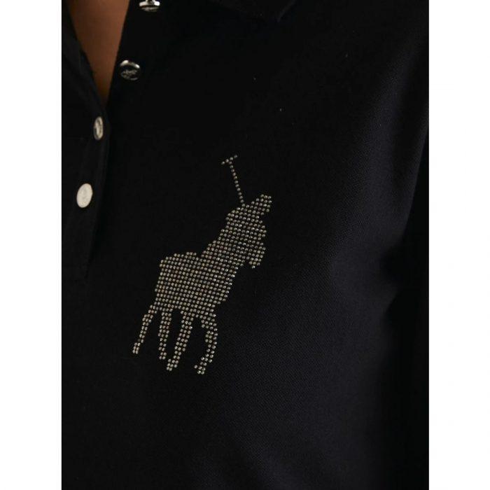 POLO RENNI EXCLUSIVE LDS RHINESTONE GOLFER DRESS BLACK.webp6