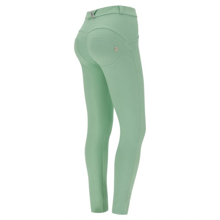 pastel skinny fit wr up shaping trousers green ash 56502 1