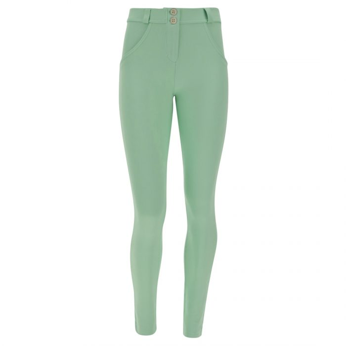 pastel skinny fit wr up shaping trousers green ash 56502 2