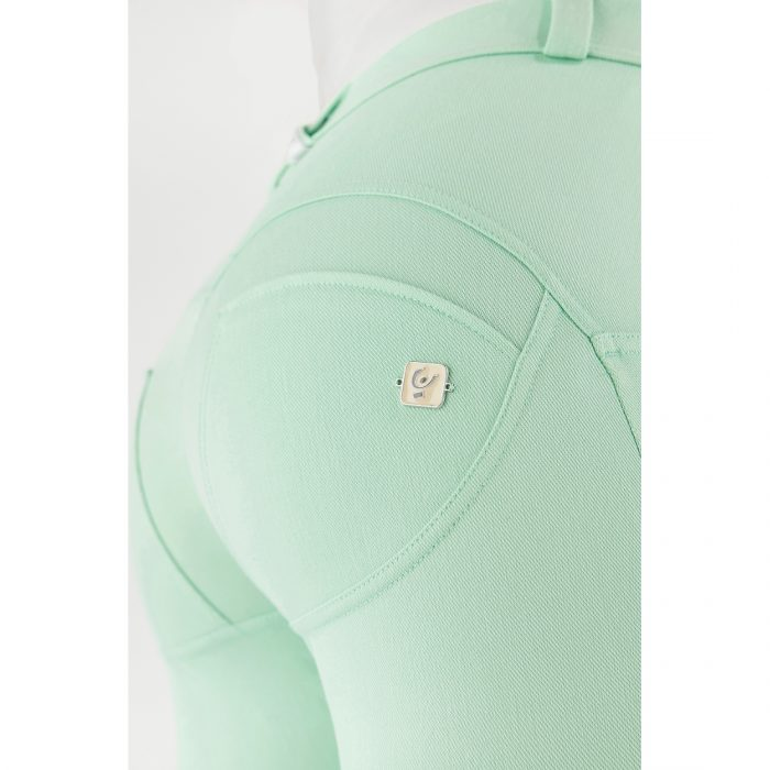 pastel skinny fit wr up shaping trousers green ash 56502 3