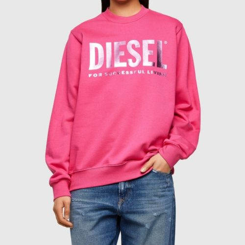 DIESEL F ANG SWEATER HOT PINK 3 1