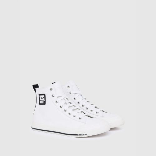DIESEL S ASTICO MID LEATHER WHITE 1