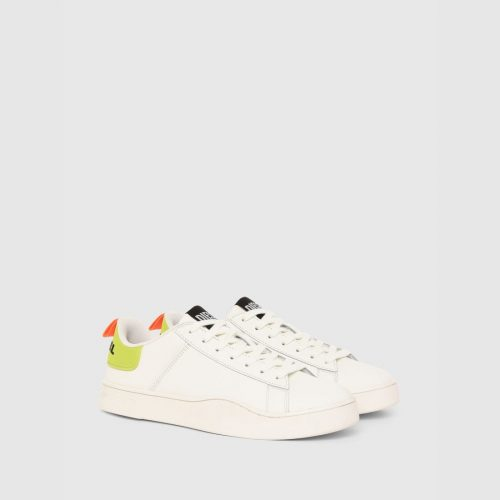 DIESEL S CLEVER LOW LACE WHITE LIME 1