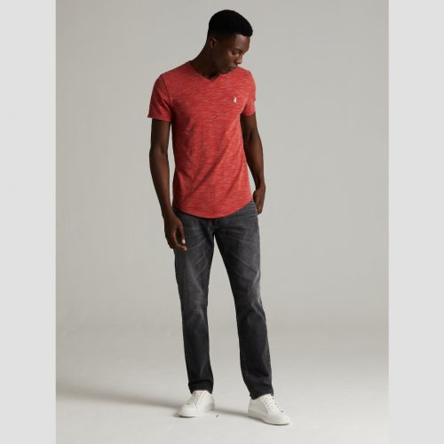 POLO OLIVER SPACEDYE RED 1