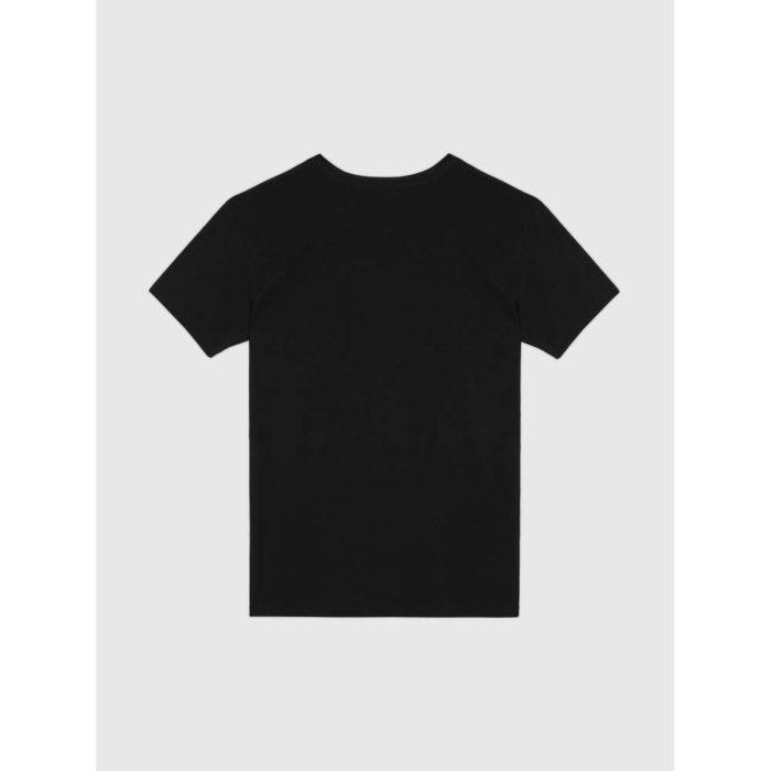 DIESEL MICHAEL UMTEE BLACK V NECK 5