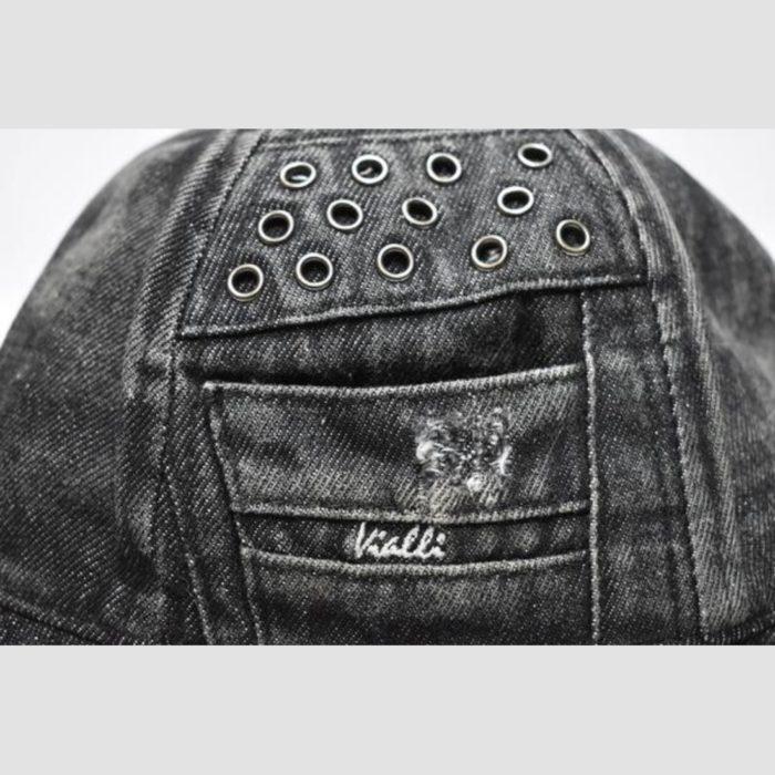 VIALLI PAPI BUCKET HAT BLACK 1 1