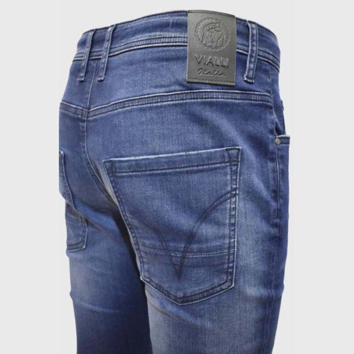 VIALLI Deno Strato Fit Jeans Navy 6