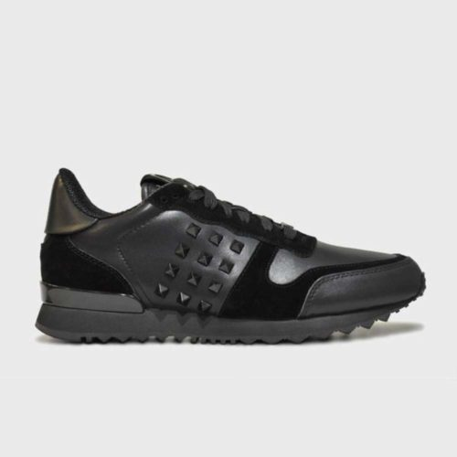 VIALLI Verona Leather Sneakers Black 4