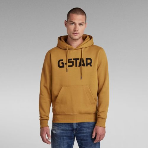 G STAR RAW HDD HOODIE SWEATER TOASTED 4